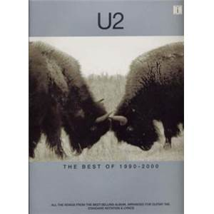 U2 - BEST OF 1990 2000 GUITAR TAB