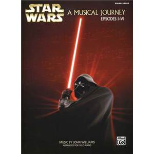 WILLIAMS JOHN - STAR WARS A MUSICAL JOURNEY (EPISODE I/VI) PIANO SOLO