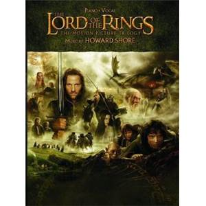SHORE HOWARD - LORD OF THE RINGS TRILOGY PIANO SOLO ET P/V/G