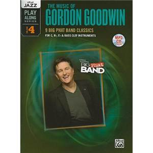 COMPILATION - JAZZ PLAY ALONG VOL.4 GORDON GOODWIN FOR C, BB, EB AND BASS CLEF + CD