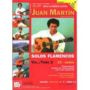 MARTIN JUAN - PLAY FLAMENCO GUITAR VOL.2 + DVD + CD