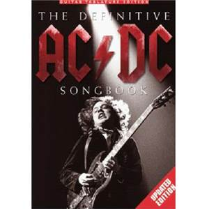 AC/DC - THE DEFINITIVE SONGBOOK UPDATED EDITION GUIT. TAB.