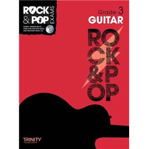 COMPILATION - TRINITY COLLEGE LONDON : ROCK & POP GRADE 3 FOR GUITAR + CD