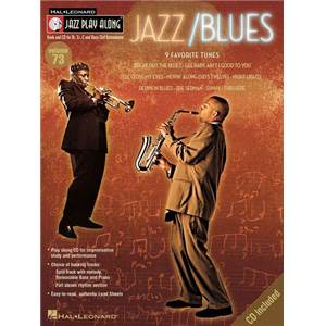COMPILATION - JAZZ PLAY ALONG VOL.073 JAZZ/BLUES + CD
