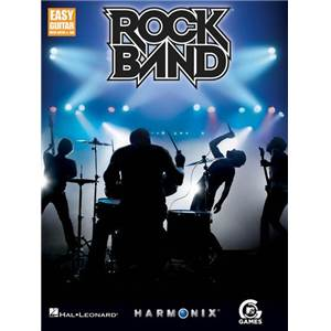 COMPILATION - ROCK BAND EASY GUITAR TAB