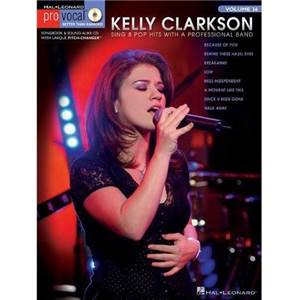 CLARKSON KELLY - PRO VOCAL FOR WOMEN SINGERS VOL.15 + CD