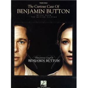 DESPLAT ALEXANDRE - THE CURIOUS CASE OF BENJAMIN BUTTON PIANO SOLO PAR ALEXANDRE DESPLAT