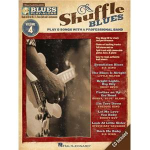 COMPILATION - BLUES PLAY ALONG VOL.4 : SHUFFLE BLUES + CD