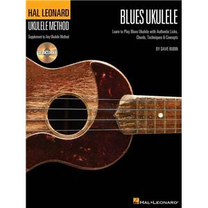 COMPILATION - HAL LEONARD UKULELE METHOD BLUES UKULELE + CD