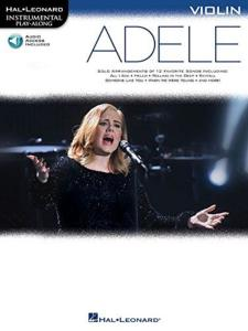 COMPILATION - INSTRUMENTAL PLAY-ALONG: ADELE VIOLIN + ONLINE AUDIO ACCES