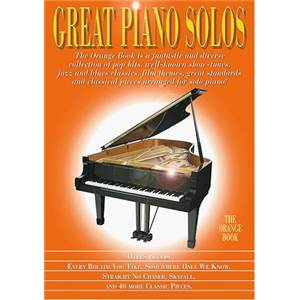 COMPILATION - GREAT PIANO SOLOS ORANGE BOOK