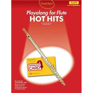 COMPILATION - GUEST SPOT HOT HIT SONGS FLUTE + CD