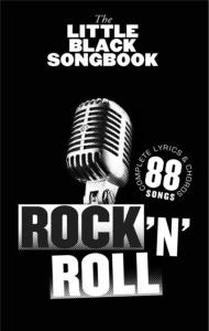 COMPILATION - LITTLE BLACK SONGBOOK ROCK 'N' ROLL 88 SONGS FORMAT POCHE