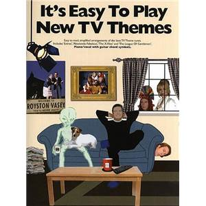 COMPILATION - IT'S EASY TO PLAY NEW TV THEMES PIANO FACILE/VOIX/GUITARE