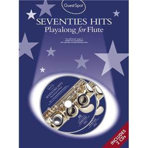 COMPILATION - GUEST SPOT SEVENTIES HITS FOR FLUTE + 2CDS