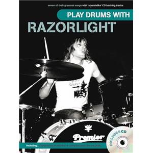 RAZORLIGHT - PLAY DRUMS WITH + CD