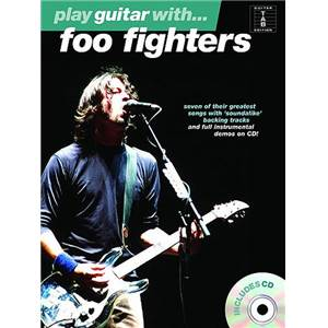 FOO FIGHTERS - PLAY GUITAR WITH + CD