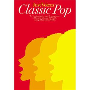 COMPILATION - JUST VOICES CLASSIC POP SSA / SAT