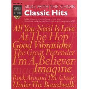 COMPILATION - SING WITH THE CHOIR VOL.04 CLASSIC HITS + CD