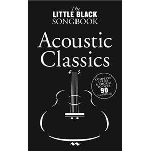 COMPILATION - LITTLE BLACK SONGBOOK ACOUSTIC CLASSICS PLUS DE 90 CHANSONS FORMAT POCHE