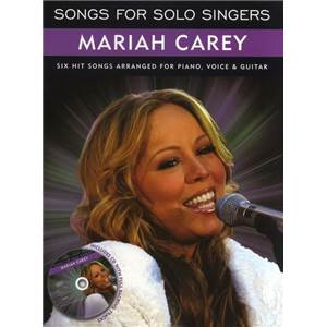 CAREY MARIAH - SONGS FOR SOLO SINGERS + CD