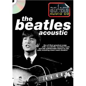 BEATLES THE - ACOUSTIC PLAY ALONG GUITAR + CD