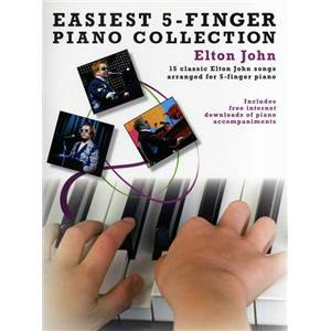 JOHN ELTON - EASIEST 5 FINGER PIANO COLLECTION