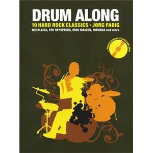 COMPILATION - DRUM ALONG 10 HARD ROCK CLASSICS + CD