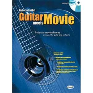 FABBRI - GUITAR MEETS MOVIE + CD
