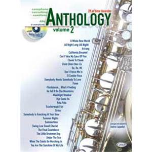 COMPILATION - ANTHOLOGY ALTO SAXOPHONE ET EB VOL.2 28 ALL TIME FAVORITES + CD