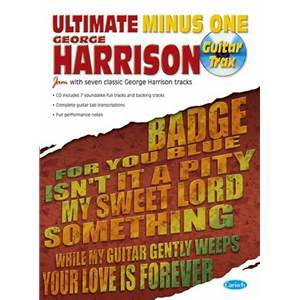 HARRISON GEORGE - ULTIMATE MINUS ONE + CD