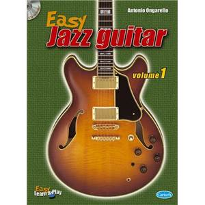 COMPILATION - EASY JAZZ GUITAR VOL.1 + CD