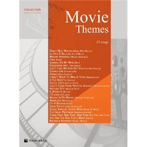 COMPILATION - MOVIE THEMES 25 SONGS VOL.1 P/V/G
