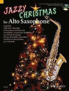 COMPILATION - JAZZY CHRISTMAS FOR ALTO SAXOPHONE + CD