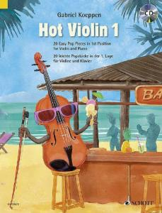KOEPPEN GABRIEL - HOT VIOLIN 1 +CD - VIOLON ET PIANO