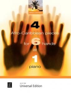 CORNICK MIKE - 4 AFRO-CARIBBEAN PIECES - PIANO 6 MAINS
