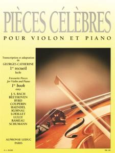 COMPILATION - PIECES CELEBRES FACILES VOLUME 1 - VIOLON ET PIANO