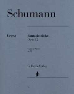 SCHUMANN ROBERT - FANTASIESTUECKE (PIECES FANTAISIES) OP.12 - PIANO