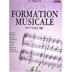 LABROUSSE MARGUERITE - COURS DE FORMATION MUSICALE VOL.6 - FORMATION MUSICALE