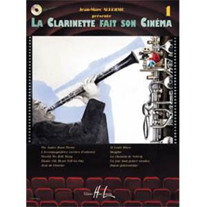 ALLERME JEAN MARC - LA CLARINETTE FAIT SON CINEMA VOL.1 + CD