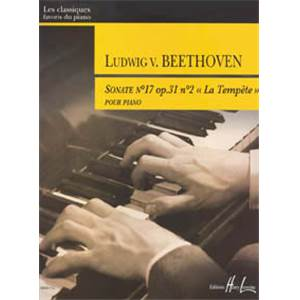 LUDWIG VAN BEETHOVEN - SONATE NO.17 EN RE MIN OP.31 NO.2 LA TEMPETE