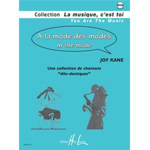 KANE JOY - A LA MODE DES MODES - IN THE MODE + CD - FORMATION MUSICALE