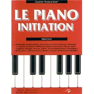 BERCOVITZ M. / MICKAELIAN A. - PIANO INITIATION