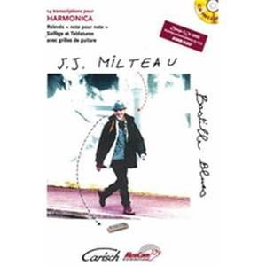 MILTEAU JEAN JACQUES - BASTILLE BLUES + CD