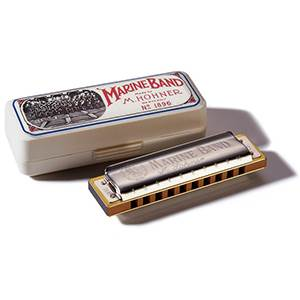 HARMONICA BLUES HOHNER MARINE BAND 1896/20 G  SOL