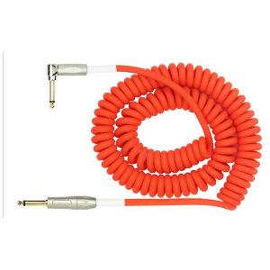 CABLE GUITARE  KIRLIN 10M ORANGE PRENIUM COIL 601373