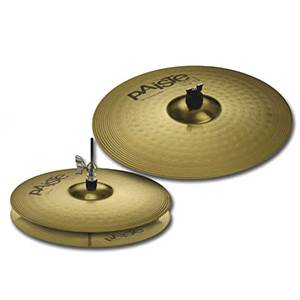 PACK CYMBALES PAISTE BRASS 101 ESSENTIEL SET 14 / 18