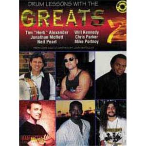 COMPILATION - LESSONS WITH THE GREATS DRUMS VOL.2 + CD