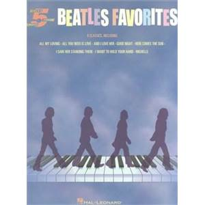 BEATLES THE - 5 FINGER PIANO: BEATLES FAVORITES