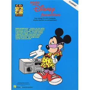 DISNEY - EASY FAVORITES TROMPETTE + CD